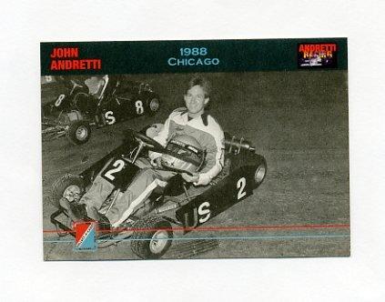 1992 Collect-A-Card Andretti Racing #35 John Andretti's Car
