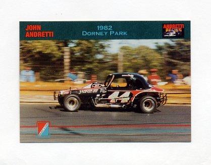 1992 Collect-A-Card Andretti Racing #34 John Andretti's Car