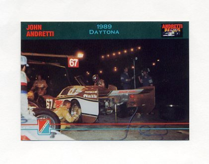 1992 Collect-A-Card Andretti Racing #29 John Andretti's Car