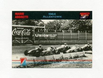 1992 Collect-A-Card Andretti Racing #23 Mario Andretti's Car