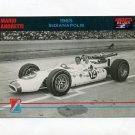 1992 Collect-A-Card Andretti Racing #12 Mario Andretti in Car