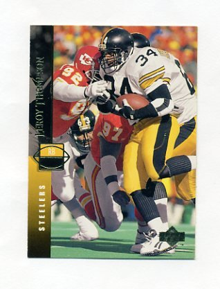 1994 Upper Deck Football #233 Leroy Thompson - Pittsburgh Steelers