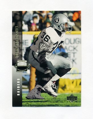 1994 Upper Deck Football #179 Terry McDaniel - Los Angeles Raiders