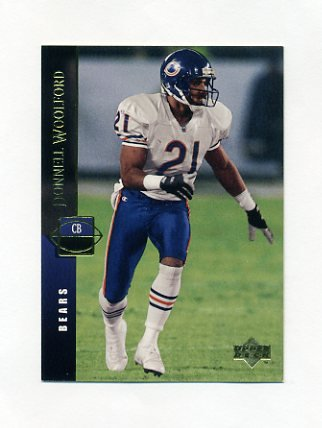 1994 Upper Deck Football #124 Donnell Woolford - Chicago Bears