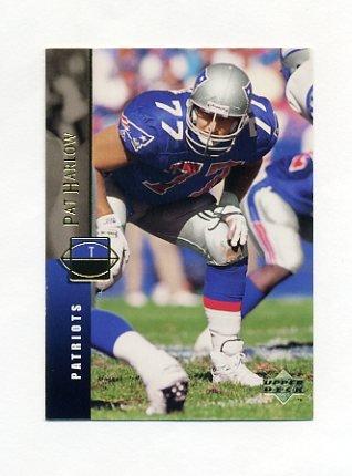 1994 Upper Deck Football #078 Pat Harlow - New England Patriots