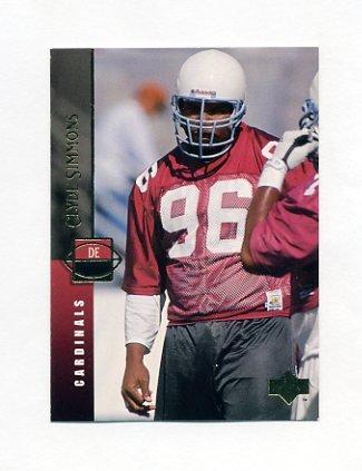 1994 Upper Deck Football #049 Clyde Simmons - Arizona Cardinals