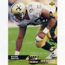 1993 Upper Deck Team MVPs Football #TM25 Wayne Martin - New Orleans Saints