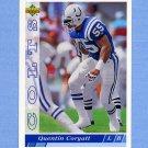 1993 Upper Deck Football #520 Quentin Coryatt - Indianapolis Colts