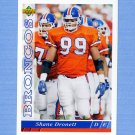 1993 Upper Deck Football #516 Shane Dronett - Denver Broncos