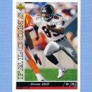 1993 Upper Deck Football #453 Drew Hill - Atlanta Falcons