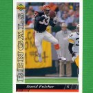 1993 Upper Deck Football #419 David Fulcher - Cincinnati Bengals