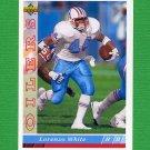 1993 Upper Deck Football #416 Lorenzo White - Houston Oilers