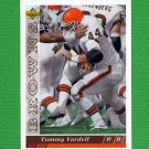 1993 Upper Deck Football #408 Tommy Vardell - Cleveland Browns