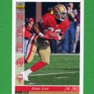 1993 Upper Deck Football #388 Amp Lee - San Francisco 49ers