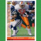 1993 Upper Deck Football #386 Keith McCants - Tampa Bay Buccaneers