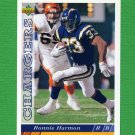 1993 Upper Deck Football #371 Ronnie Harmon - San Diego Chargers