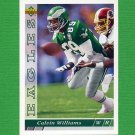 1993 Upper Deck Football #355 Calvin Williams - Philadelphia Eagles