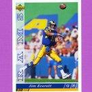 1993 Upper Deck Football #349 Jim Everett - Los Angeles Rams