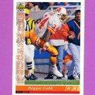 1993 Upper Deck Football #343 Reggie Cobb - Tampa Bay Buccaneers