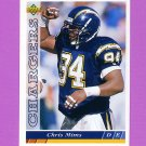 1993 Upper Deck Football #293 Chris Mims - San Diego Chargers