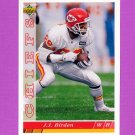 1993 Upper Deck Football #267 J.J. Birden - Kansas City Chiefs
