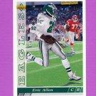 1993 Upper Deck Football #257 Eric Allen - Philadelphia Eagles