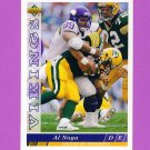 1993 Upper Deck Football #216 Al Noga - Minnesota Vikings