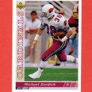 1993 Upper Deck Football #122 Michael Zordich - Phoenix Cardinals