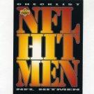 1993 Upper Deck Football #062 NFL Hitmen Checklist