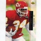 1993 Upper Deck Football #055 Dale Carter - Kansas City Chiefs