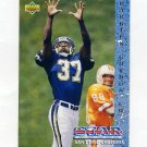1993 Upper Deck Football #017 Darrien Gordon RC - San Diego Chargers