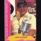 1993 Traks Racing #141 Chuck Rider