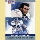 1990 Pro Set Super Bowl MVP's Football #12 Harvey Martin / Randy White - Dallas Cowboys