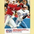 1990 Pro Set Football #792 Maurice Hurst / Drew Hill