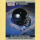 1990 Pro Set Football #788 NFL Goes International