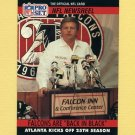 1990 Pro Set Football #787 Jerry Glanville / Falcons Back In Black