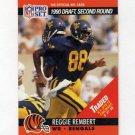 1990 Pro Set Football #697 Reggie Rembert RC - Cincinnati Bengals