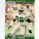 1990 Pro Set Football #690 Ben Smith RC - Philadelphia Eagles