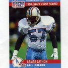 1990 Pro Set Football #683 Lamar Lathon RC - Houston Oilers