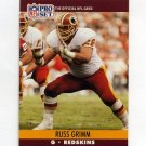 1990 Pro Set Football #663 Russ Grimm - Washington Redskins