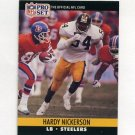 1990 Pro Set Football #624 Hardy Nickerson - Pittsburgh Steelers