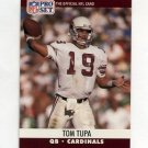 1990 Pro Set Football #619 Tom Tupa RC - Phoenix Cardinals