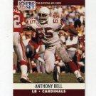 1990 Pro Set Football #613 Anthony Bell - Phoenix Cardinals