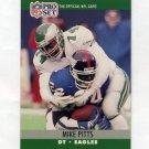 1990 Pro Set Football #611 Mike Pitts - Philadelphia Eagles