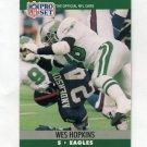 1990 Pro Set Football #607 Wes Hopkins - Philadelphia Eagles