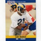 1990 Pro Set Football #555 Curt Warner - Los Angeles Rams