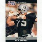1990 Pro Set Football #545 Howie Long - Los Angeles Raiders