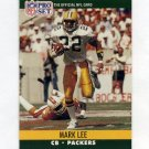 1990 Pro Set Football #503 Mark Lee - Green Bay Packers