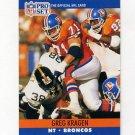 1990 Pro Set Football #487 Greg Kragen - Denver Broncos