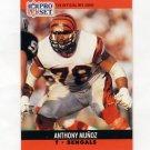 1990 Pro Set Football #467 Anthony Munoz - Cincinnati Bengals